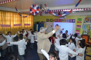 Aula Motivadora del profesor Iván Retamal